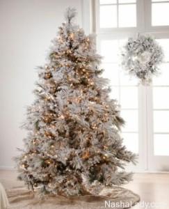 Как-украсить-новогоднюю-елку-в-год-Козы-2015